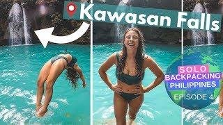 One of Backpacking Bananas's most viewed videos: EPIC CANYONING AT KAWASAN FALLS // Solo Backpacking the Philippines