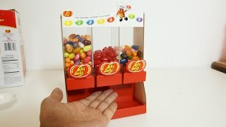 Jelly Belly Candy Dispenser 3 Types Of Taste ジェリーベリーディスペンサー