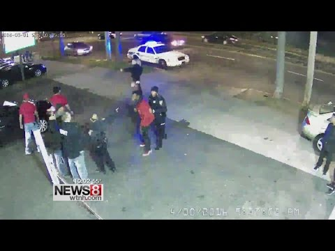 New Haven police release video of arrest where some allege brutality