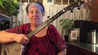 Cripple Creek ( an instructional video for beginning clawhammer banjo players)