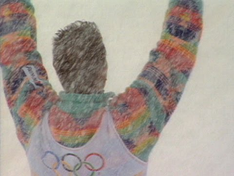 The First Moguls Champion - Edgar Grospiron - Albertville 1992 Winter Olympics
