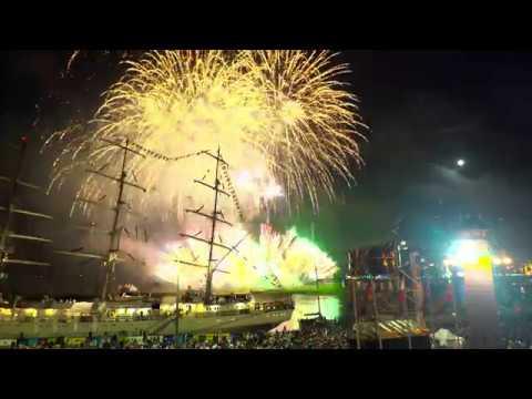 Fajerwerki - Tall Ships Races 2017 Szczecin