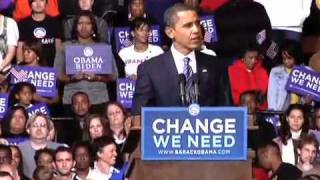 "Barack in Richmond, VA: ""We All Love This Country"""