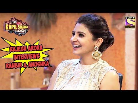 Rajesh Arora Interviews Ranbir & Anushka -...