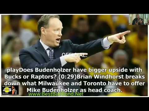 Milwaukee Bucks hire Mike Budenholzer named Head coach Breaking NBA Breaking News Giannis