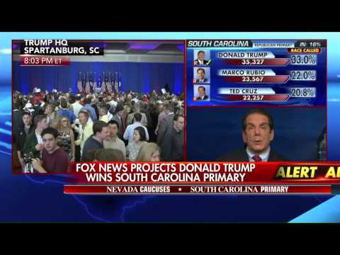 Charles Krauthammer Reacts to SC GOP Primary Results