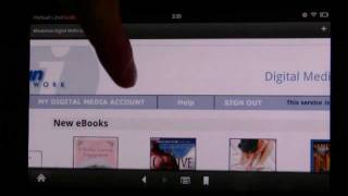 Downloading library ebooks for your Kindle Fire