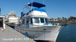 sold used 1977 chb 34 double cabin in huntington beach california