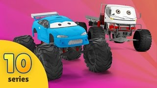 Monster Truck Upgrade Tuning & Training Race | New Monster Truck Adventures | EPISODE 10