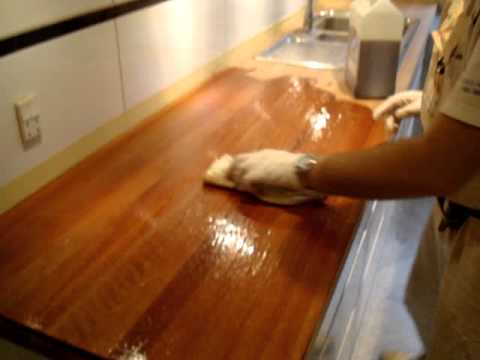 Oliebehandling af køkkenbord - afslibning af køkkenbordplade www.dbf ...