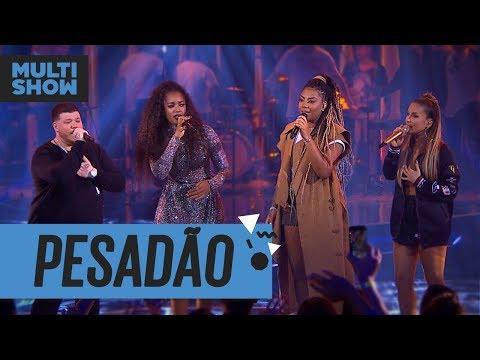 Pesadão  Iza + Ferrugem + Ludmilla + Claudia Leitte  Música Boa Ao Vivo  Música Multishow