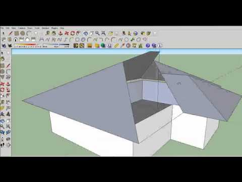 Sketchup techniques components mirror doovi for Mirror in sketchup
