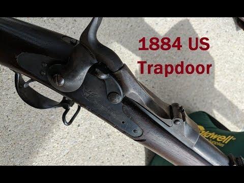 Shooting the US Model 1884 Trapdoor Springfield