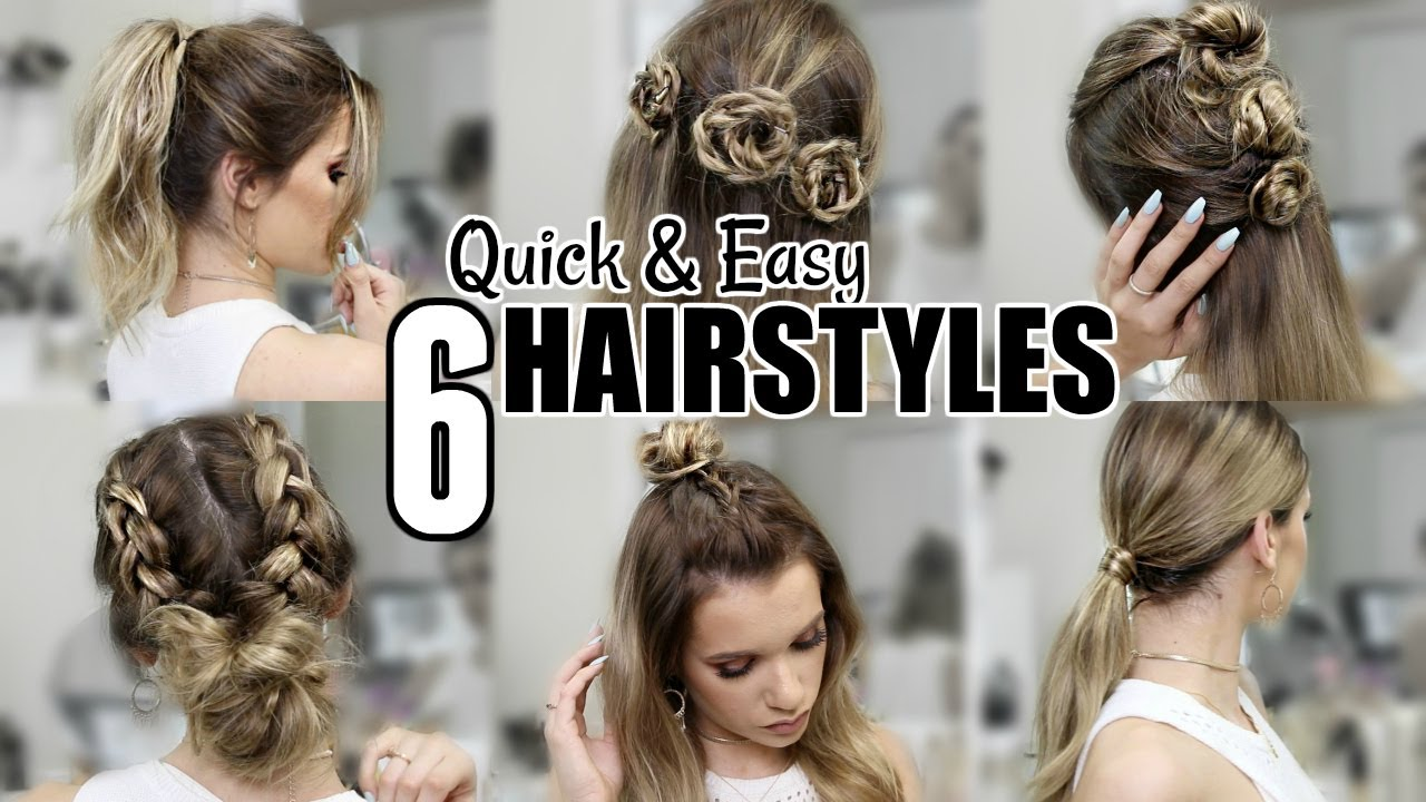 6 QUICK & EASY HEATLESS HAIRSTYLES You NEED to Know this SUMMER ...