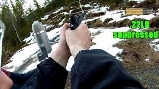 Recording gunshot sounds with a high quality microphone (Blue Yeti)