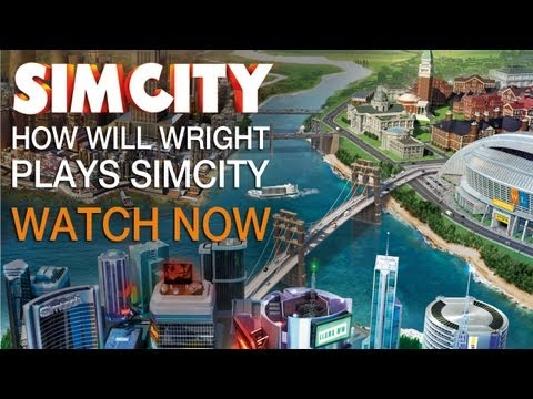 SimCity | How Will Wright Play's The New SimCity