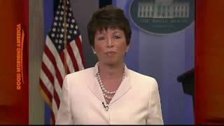 Valerie Jarrett on Obama's Milestone