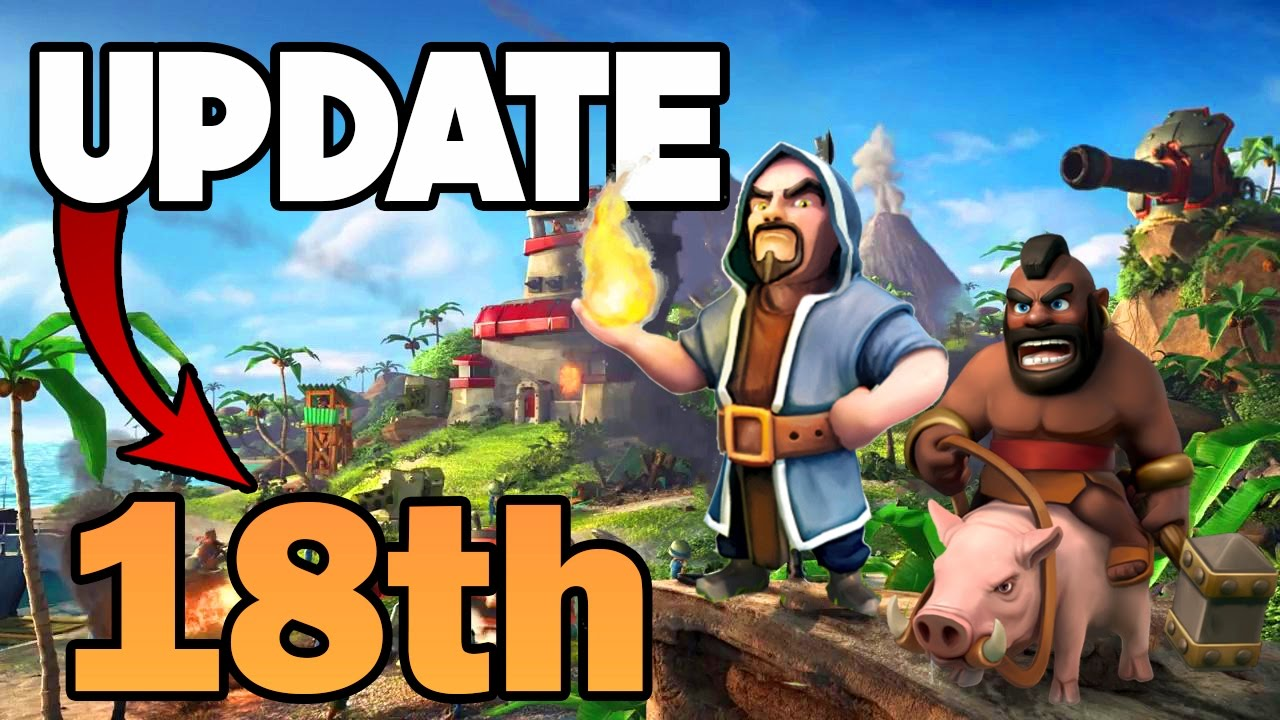 Clash of Clans | HUGE Update On May 18th!? + Reddit Th6-Th8 Tournament  Introduction | Free Giveaway!