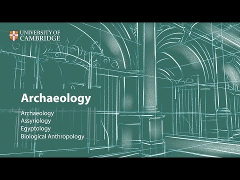Archaeology at Cambridge