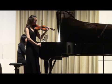 Xin Wen Recital at HMTM Hannover 03.11.2016