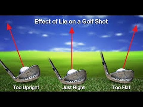 Lie Angle What is it and how does effect your golf shots - YouTube