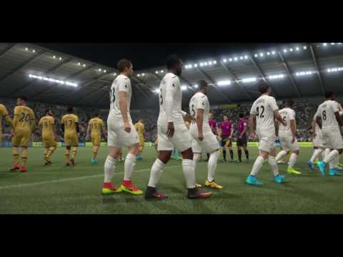FIFA 17 (PS4 Pro) Swansea v Tottenham @ Liberty Stadium April 5, 2017 (SIM MATCH 1080P 30FPS)