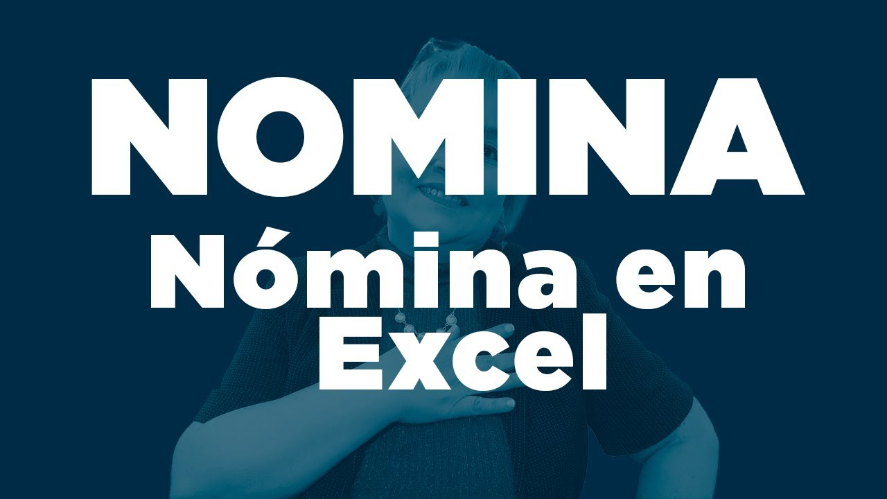 86 n mina en excel elsamaracontable youtube for Calculo nomina semanal excel 2016