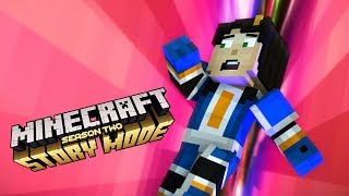 FALLING INTO THE VOID! - MINECRAFT STORYMODE SEASON 2 (EP.8)
