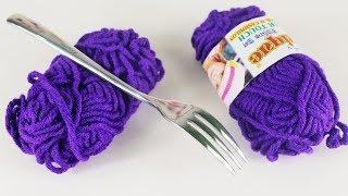 উলের সুতা দিয়ে নাইস ডোর তোরান   DIY Door Toran Out Of Woolen Threads