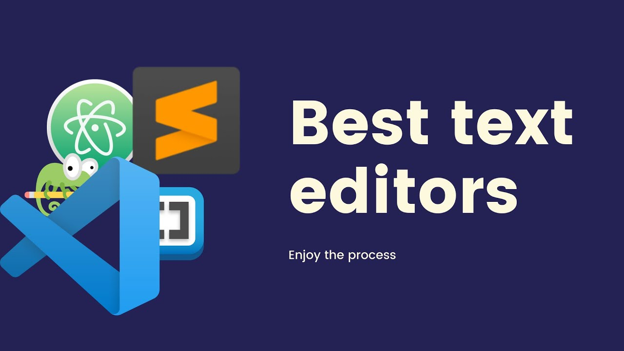 Best text editors 2021 for web development and programming
