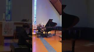 Bryan Johnson plays Bach Invention No. 8