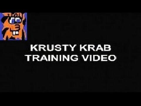 Krusty krab training video dating 8
