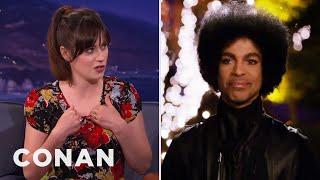 """When Prince Nixed The Kardashians, """"New Girl"""" Execs Built A Bonfire  - CONAN on TBS"""