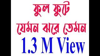 Download Video FUL FOTE  ফুল ফোটে যেমন ঝরে তেমন খোদার বাগানে MP3 3GP MP4