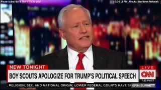 Panel Discuss on Boy Scouts Apologize for Trump's Political Speech. @BillKristol @PARISDEN