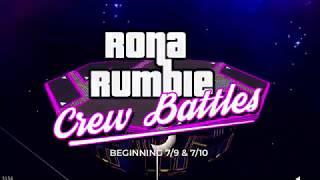 Rona Rumble: Regional Crew Battles (Trailer)
