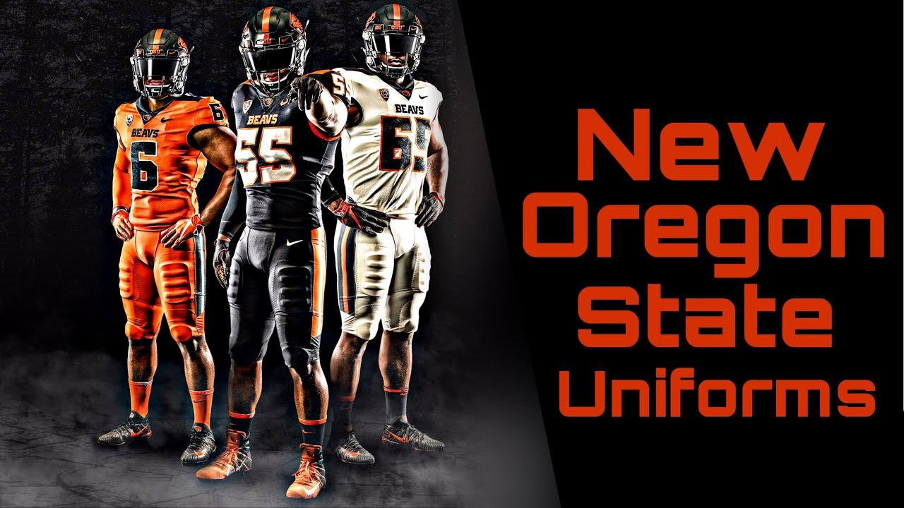 Oregon State New Nike Uniforms