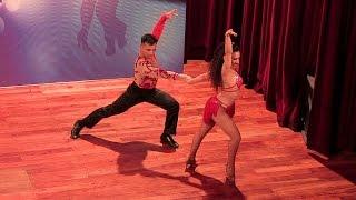 Argentina Salsa Open 2015 ~ Semifinal ~ Wendy Molina & Oscar Benítez ~ 1º
