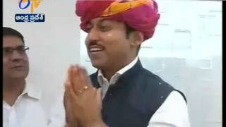 Rajyavardhan Rathore Meets Panchayat Raj Delegation from Rajasthan