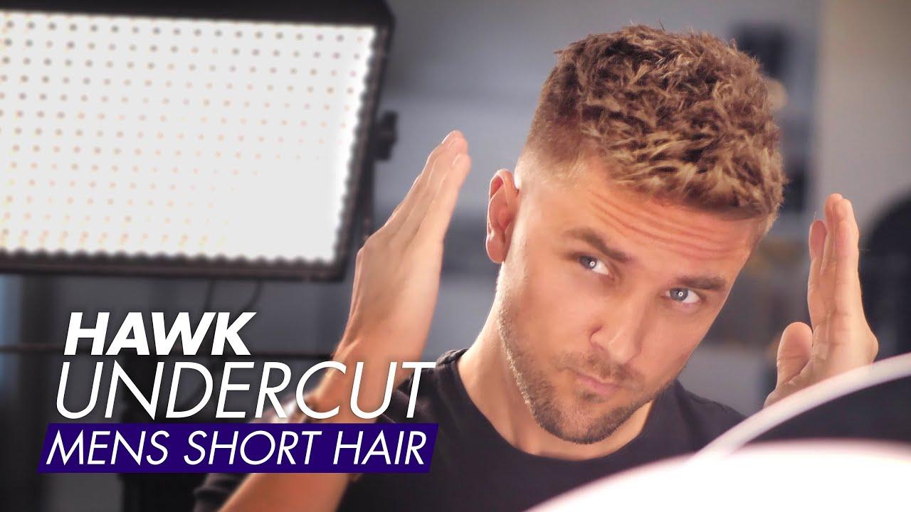 Hawk Undercut Men Short Hair For Summer Youtube