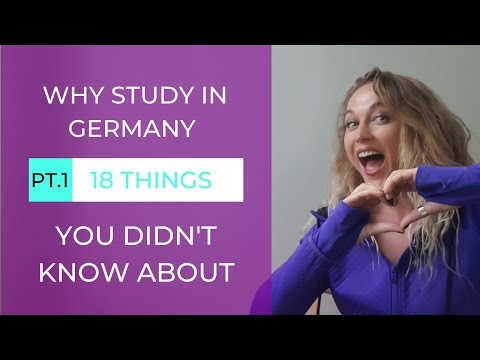 WHY STUDY IN GERMANY ?   18 Things You Didn't Know About Part 1