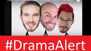 GradeAUnderA vs PewDiePie , Markiplier & Matthew Santoro #DramaAlert DSP WANK Stream! Rich Piana