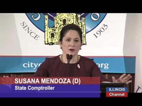 Comptroller Mendoza on Improving State's Financial Woes.