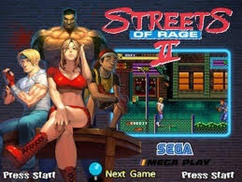 Streets of Rage 2 Mega Drive /Resident Evil 2 Lado A leon Novo tempo