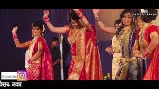 Khandobachi Karbharin Zhali Banu Dhanagarin - #Marathi Song |#खंडोबाची कारभारीन झाली