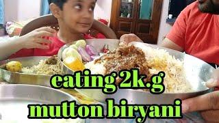 #biryanieatingchallenge #foodshow Eating 2kg mutton biryani | biryani eating challenge