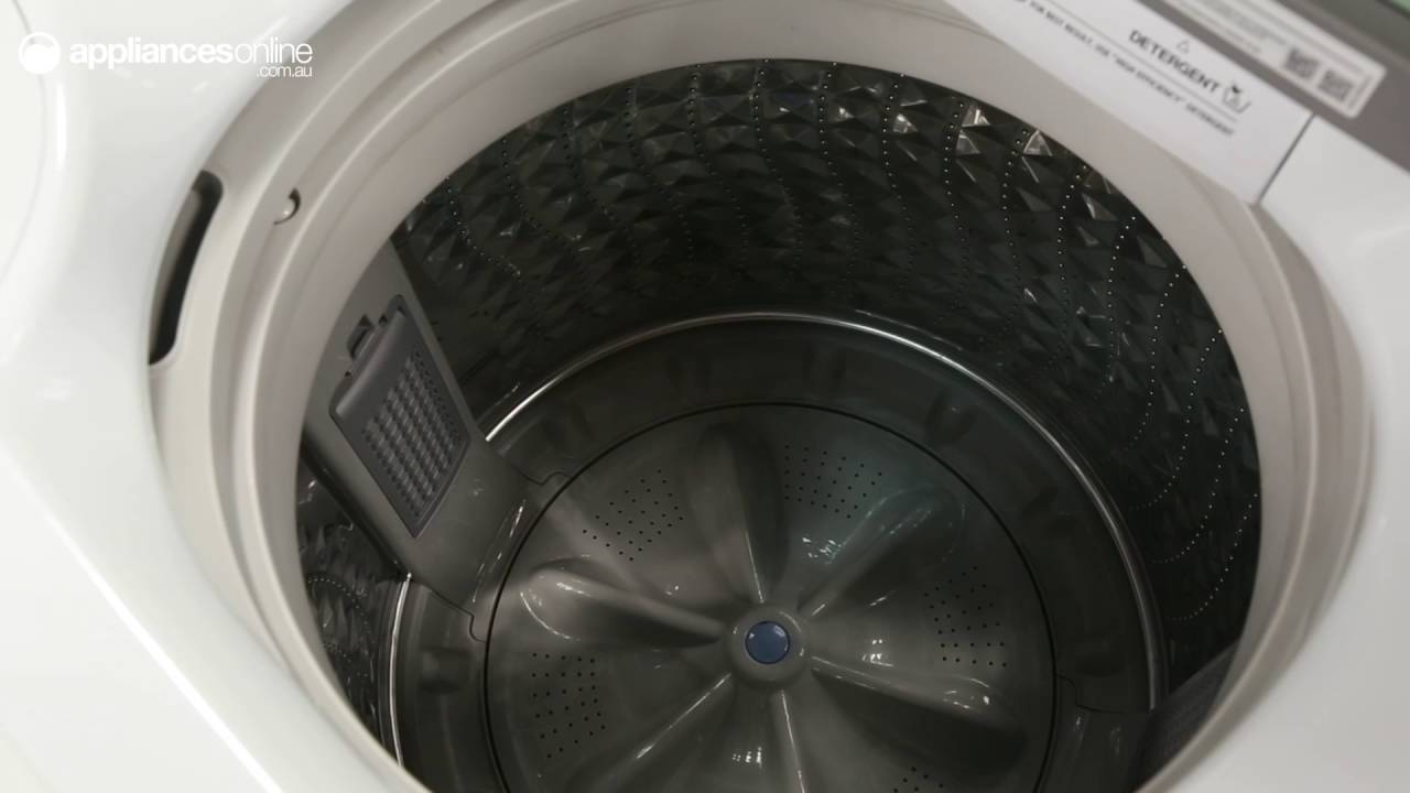 top loading washing machine inside. samsung wa90h7000gw 9kg top load washing machine overview - appliances online youtube loading inside