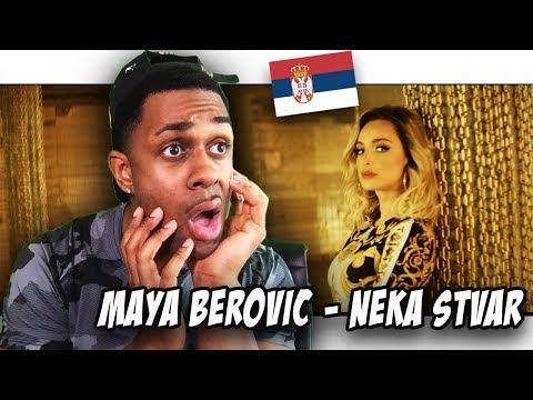 BALKAN MUSIC REACTION   Maya Berović – Neka Stvar (Official Video)