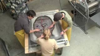 Chuck Close- Roy Paper/Pulp Time Lapse.mov