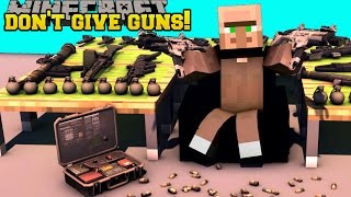 Minecraft: DON'T GIVE GUNS TO VILLAGERS! - MASTER OF TIME - Custom Map [1]
